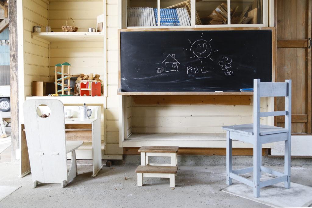 大分市戸次 木工雑貨mocca お子さまプレイスペース