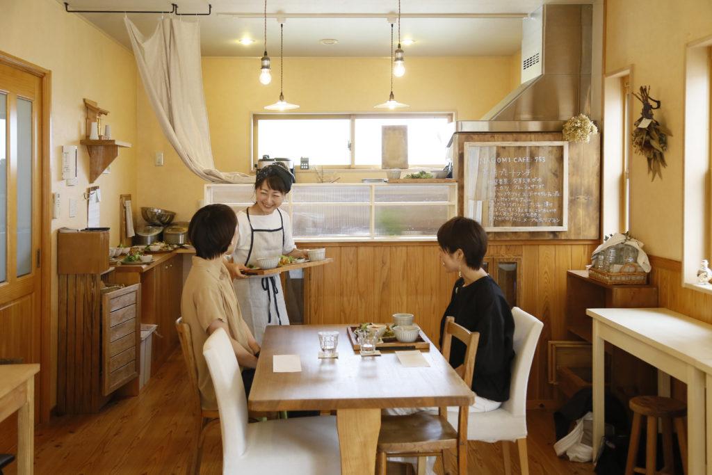 有機玄米、無農薬・有機野 NAGOMI CAFE 753菜